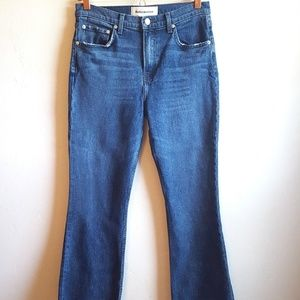 Reformation Cropped Flood Jeans